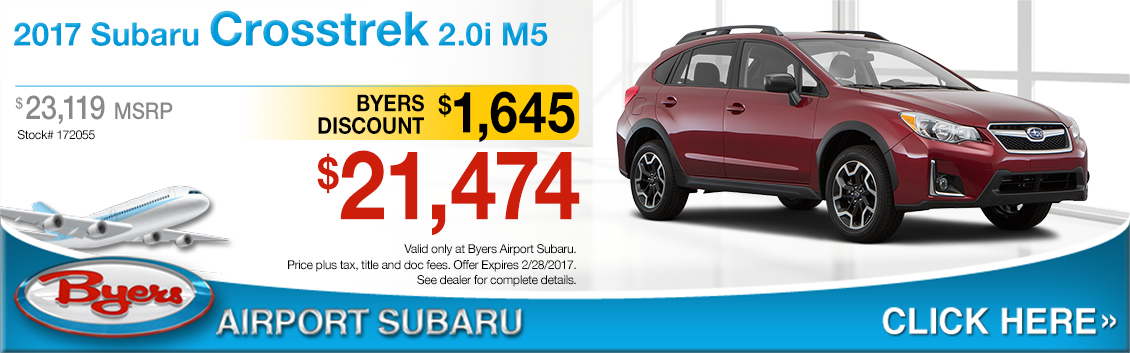 2017 Subaru Crosstrek 2.0i Sales Special in Columbus, OH