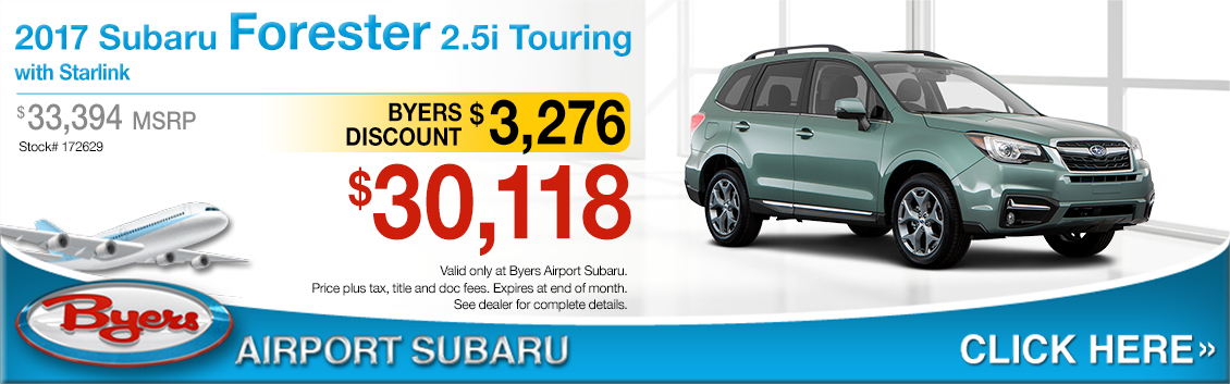 2017 Subaru Forester 2.5i Touring Sales Special in Columbus, OH