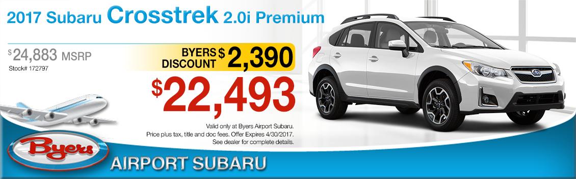 2017 Subaru Crosstrek 2.0 Premium Sales Special in Columbus, OH