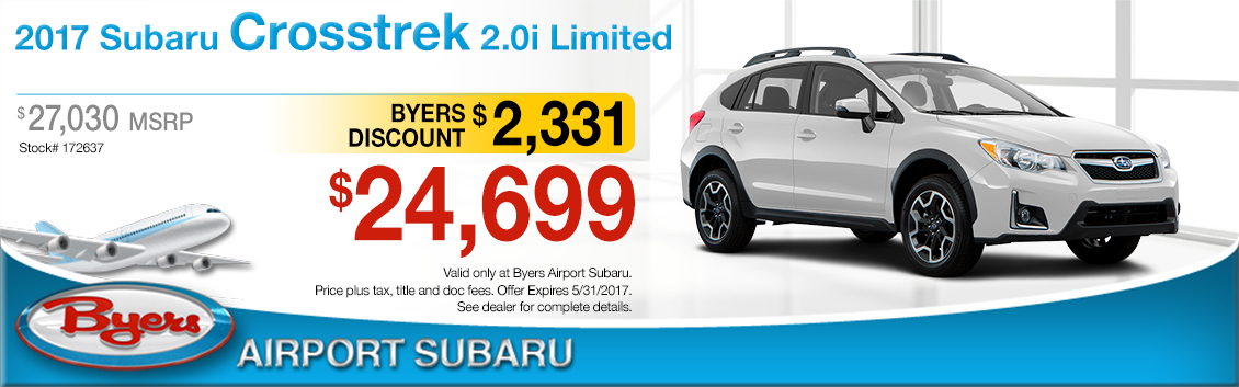 2017 Subaru Crosstrek 2.0i Limited Sales Special in Columbus, OH