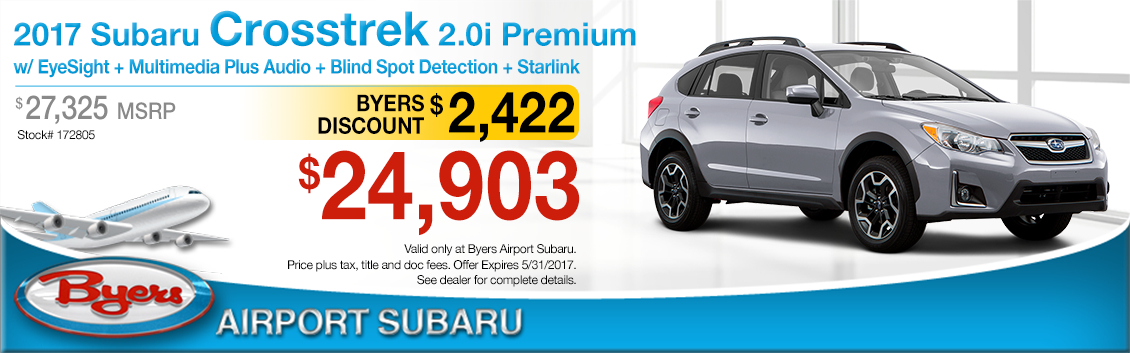 2017 Subaru Crosstrek 2.0i Premium Purchase Special in Columbus, OH