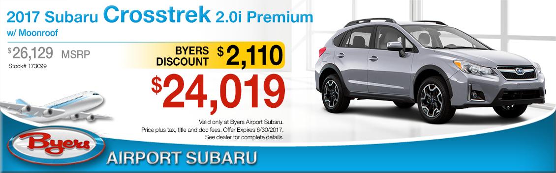 2017 Subaru Crosstrek 2.0i Premium Sales Special in Columbus, OH