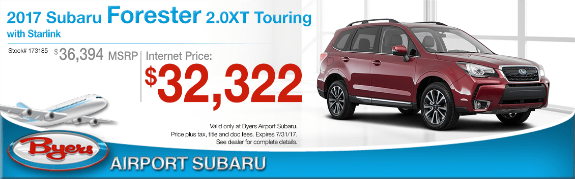 2017 Subaru Forester 2.0XT Touring with Starlink Sales Special in Columbus, OH
