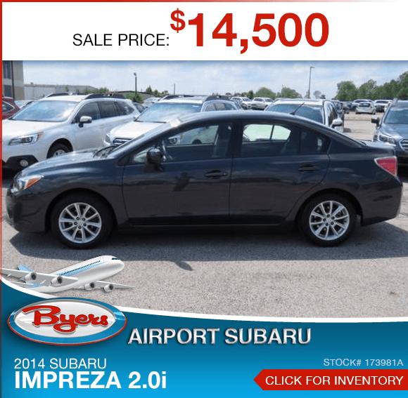 2014 Subaru Impreza 2.0i Certified Pre-Owned Special in Columbus, OH
