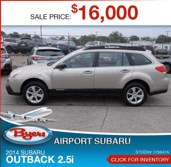 Certified Pre-Owned 2014 Subaru Outback 2.5i Special in Columbus, OH