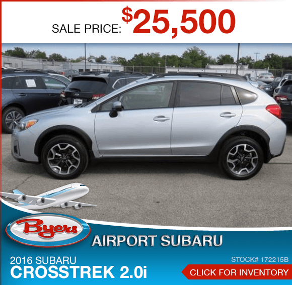 2016 Subaru Crosstrek 2.0i Certified Pre-Owned Special in Columbus, OH