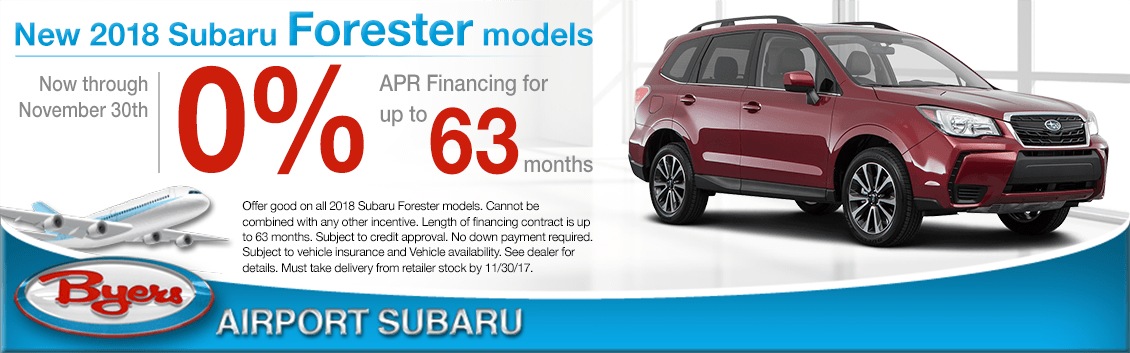 2018 Subaru Forester Finance Special in Columbus, OH