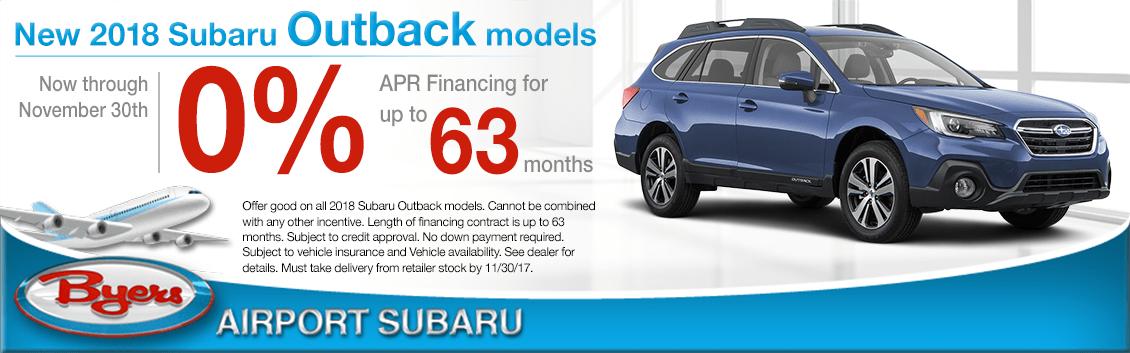 2018 subaru 0 financing. Fine 2018 New 2018 Subaru Outback Model Low APR Special In Columbus OH To Subaru 0 Financing
