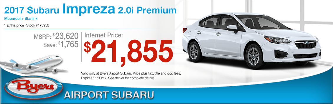 2018 Subaru Impreza 2.0i Premium Sales Special in Columbus, OH