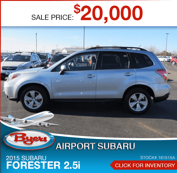 2015 Subaru Forester 2.5i Pre-Owned Special in Columbus, OH