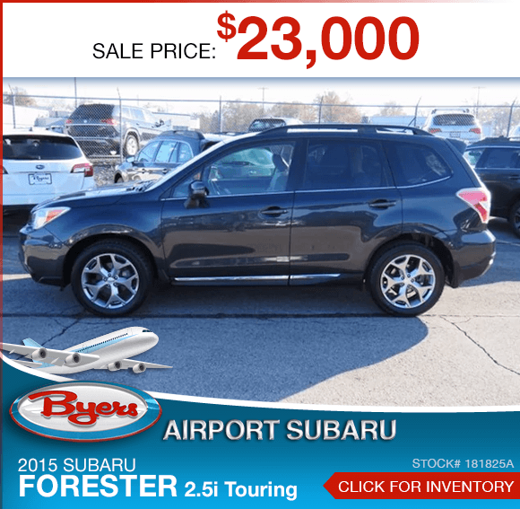 2015 Subaru Forester 2.5i Touring Pre-Owned Special in Columbus, OH