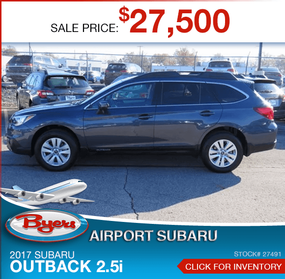 2017 Subaru Outback 2.5i Pre-Owned Special in Columbus, OH