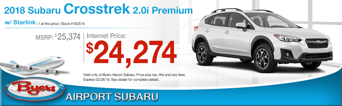 2018 Subaru Crosstrek 2.0i Premium Purchase Special in Columbus, OH