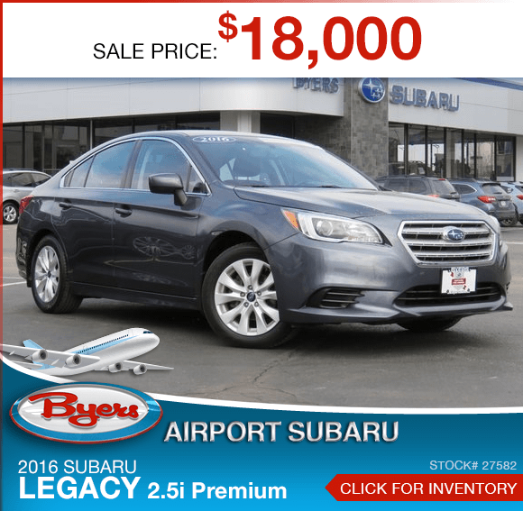 2016 Legacy 2.5i Premium Pre-Owned Sales Special in Columbus, OH