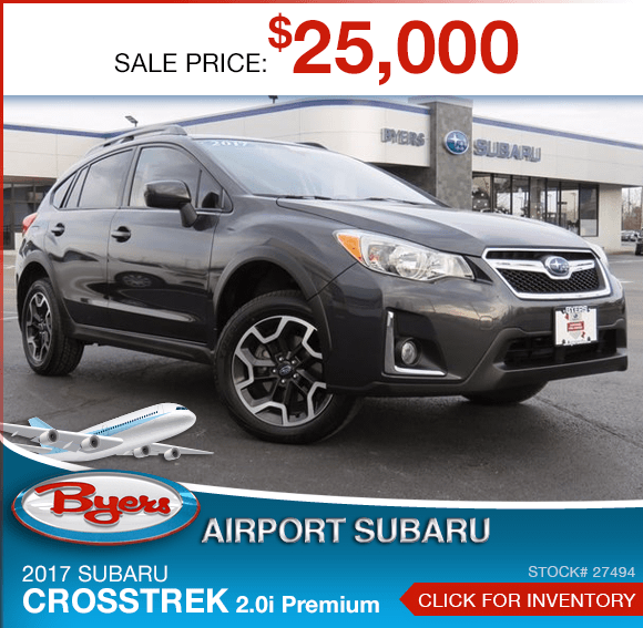 2017 Crosstrek 2.0i Premium Pre-Owned Sales Special in Columbus, OH