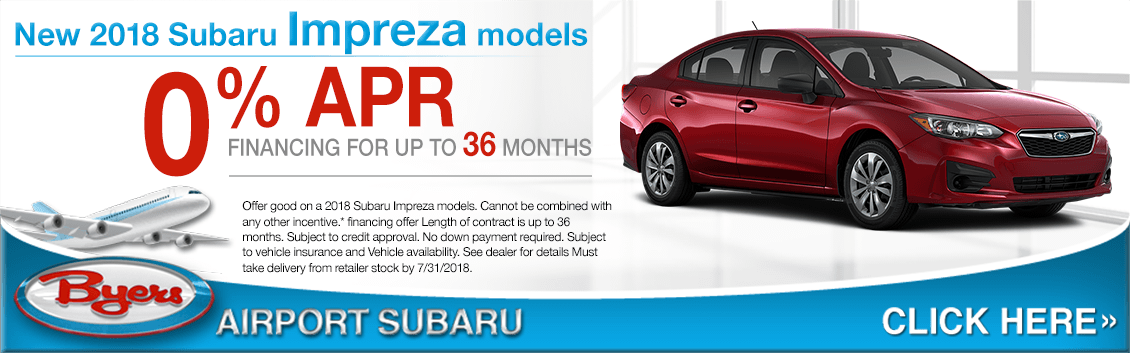 2018 Subaru Impreza Low Financing Offer in Columbus, OH