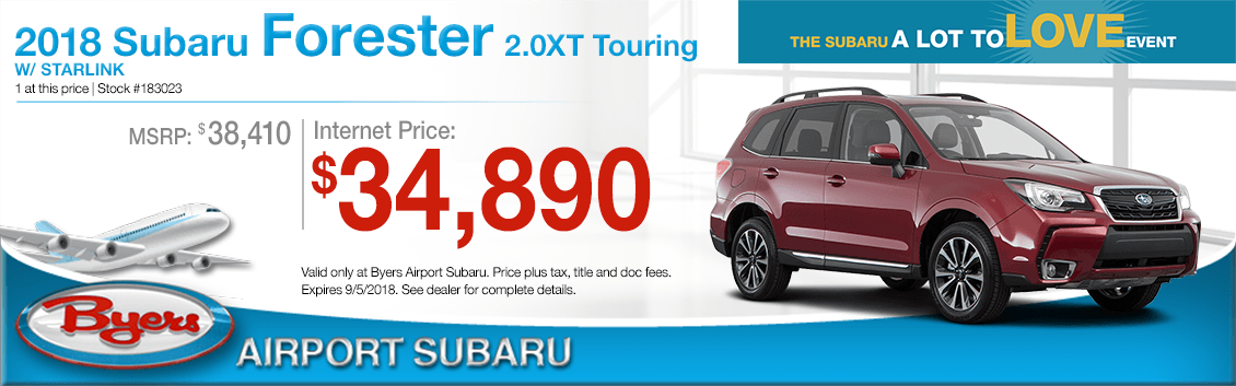 2018 Forester 2.0XT Touring w/Starlink Purchase Special in Columbus, OH