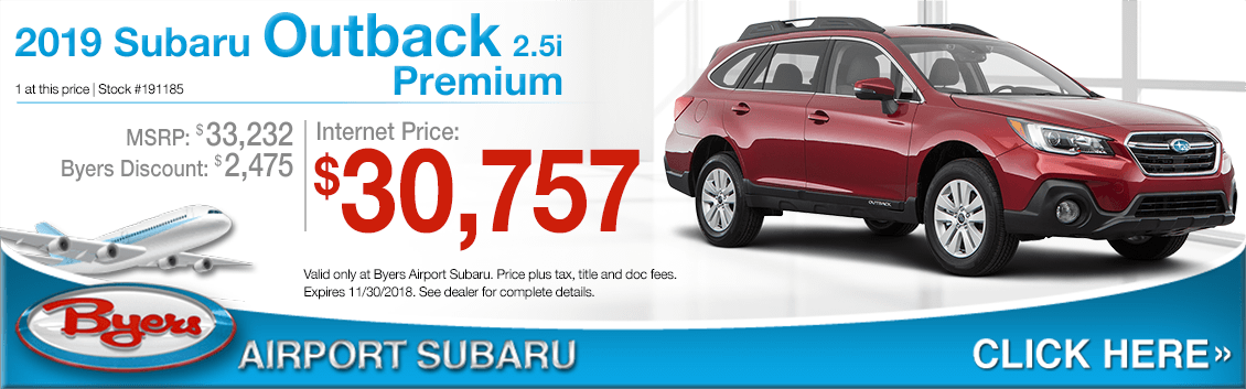 2019 Subaru Outback 2.5i Premium Special Purchase Savings Offers in Columbus, OH