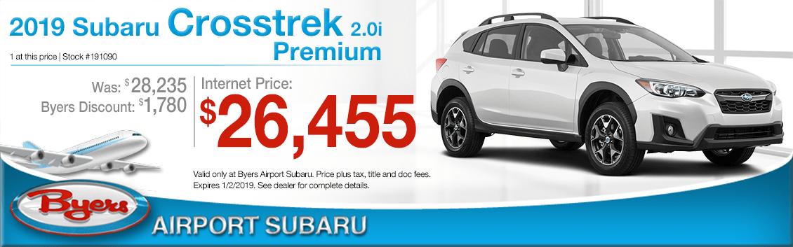 2019 Subaru Crosstrek 2.0i Premium Purchase Special in Columbus, OH