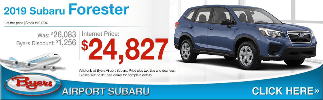 2019 Subaru Forester Sales Special in Columbus, OH