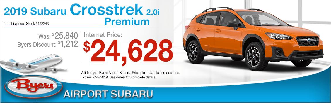 2019 Subaru Crosstrek 2.0i Premium Sales Special in Columbus, OH