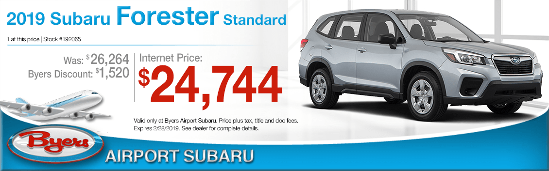 2019 Subaru Forester Standard Sales Special in Columbus, OH