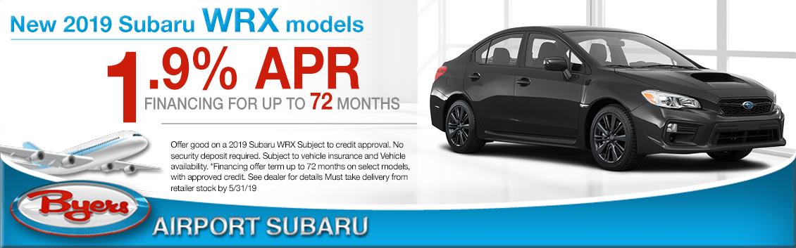 2019 Subaru WRX Low APR Special in Columbus, OH
