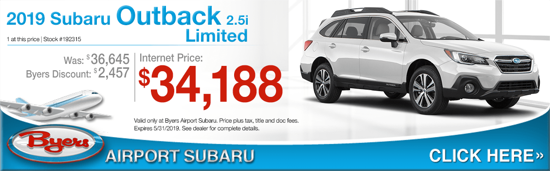 2019 Subaru Outback 2.5i Limited Purchase Special in Columbus, OH