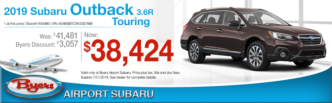 2019 Subaru Outback 3.6R Touring Sales Special in Columbus, OH