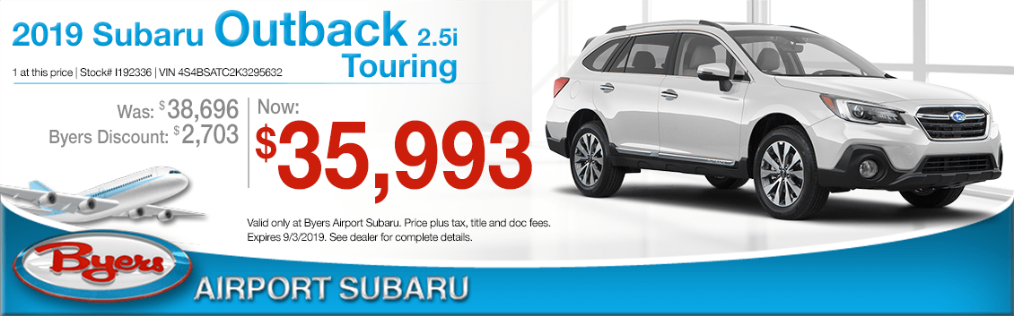 2019 Subaru Outback Special Offers | Columbus New Car Savings