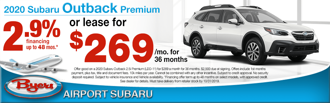 2020 Subaru Outback Premium Low APR or Lease Special in Columbus, OH