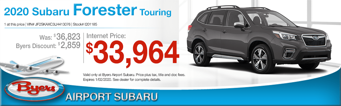 New 2020 Subaru Forester SUV Touring Special at Byers Airport Subaru in Columbus, OH