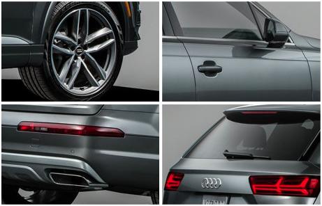 2017 Audi Q7 Exterior Features