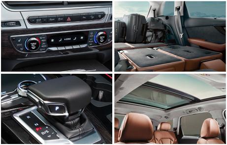 2017 Audi Q7 Interior Design