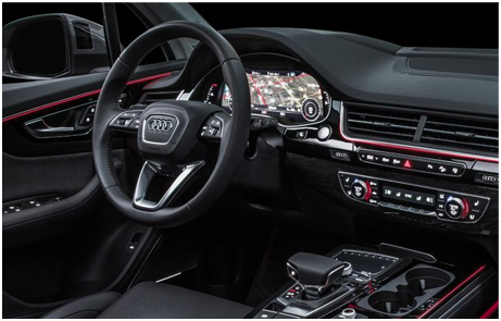 2017 Audi Q7 Interior Features