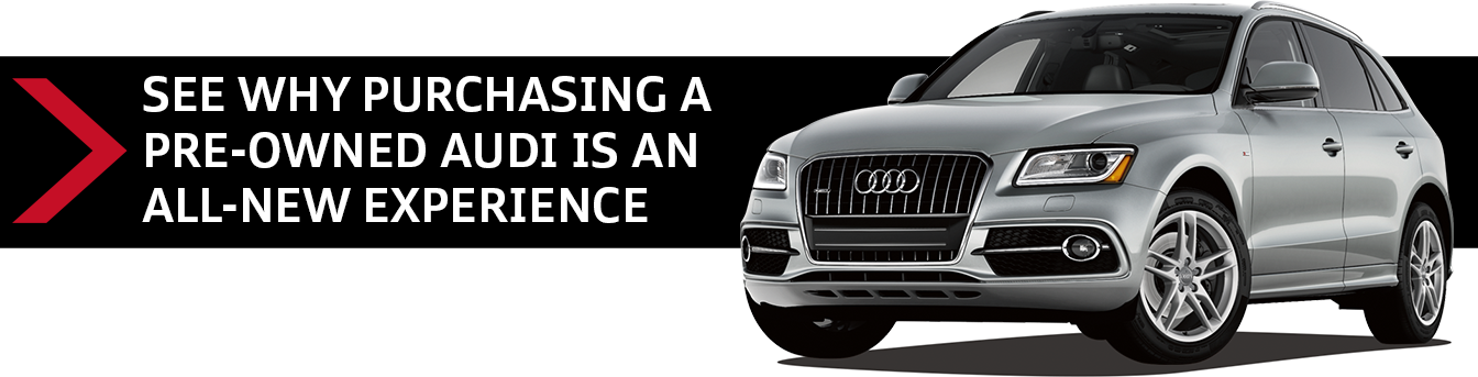 Click to see the benefits of owning a pre-owned Audi