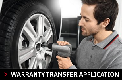 Audi Columbus warranty transfer application