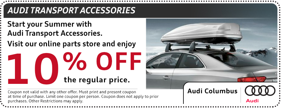 Audi transport accessories parts special in Columbus, OH
