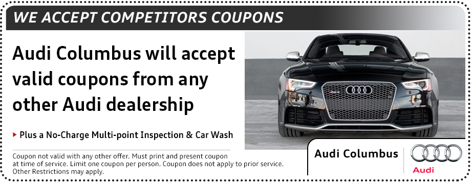 Audi Competitor Service Special serving New Albany, OH