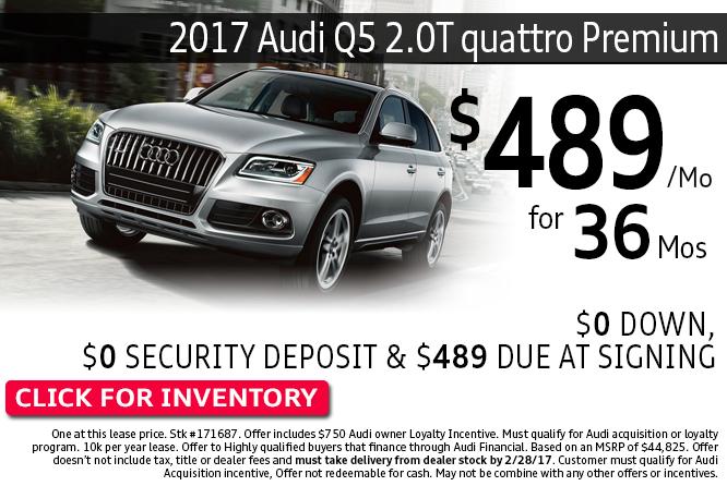 Enjoy Special Savings on this 2017 Audi Q5 2.0T quattro Premium during this month's savings in Columbus, OH
