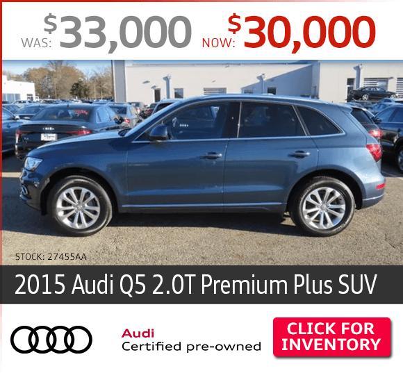 2015 Audi Q5 2.0T Premium Plus SUV Certified Pre-Owned Special in Columbus, OH