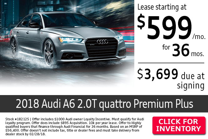 New Audi Specials New Car Deals Near Westerville OH - Audi loyalty