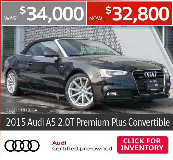 CPO Audi Specials