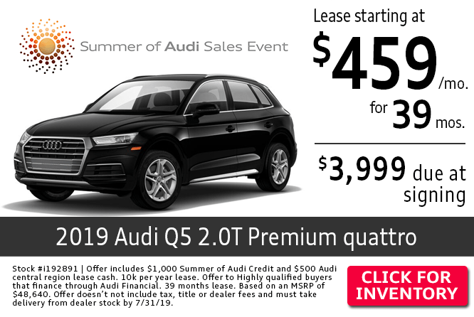 Audi Q5 Lease >> Columbus Oh Audi Dealer New Luxury Car Specials Audi Columbus