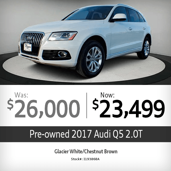 2017 Audi Q5 2.0T Pre-Owned Special in Columbus, OH