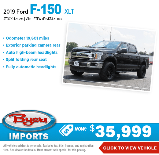 2019 Ford F-150 XLT Pre-Owned Special at Byers Imports in Columbus, OH