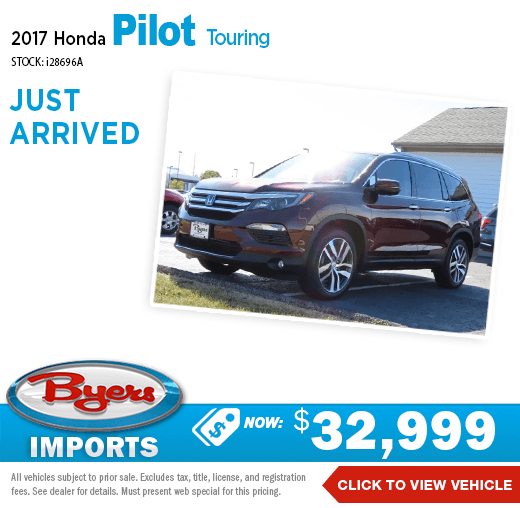 2017 Honda Pilot Touring Pre-Owned Special at Byers Imports in Columbus, OH