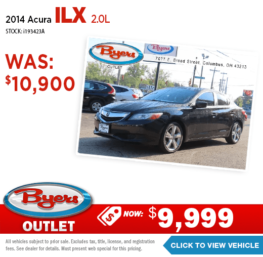 2014 Acura ILX 2.0L Pre-Owned Special at Byers Imports in Columbus, OH