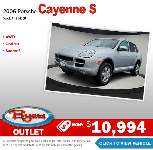 2006 Porsche Cayenne S Pre-Owned Special in Columbus, OH