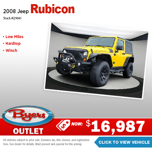 2008 Jeep Rubicon Pre-Owned Special in Columbus, OH